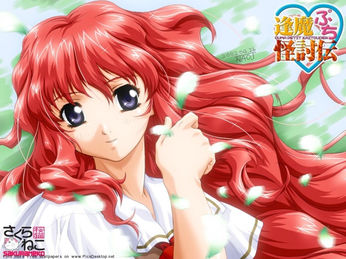 Фото девочка из мультика с красными волосами 19 фотография